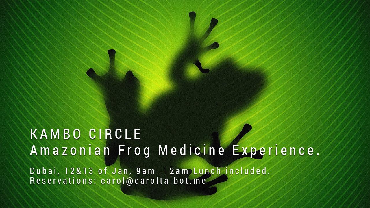 Kambo Circle - Amazonian Frog Medicine Experience