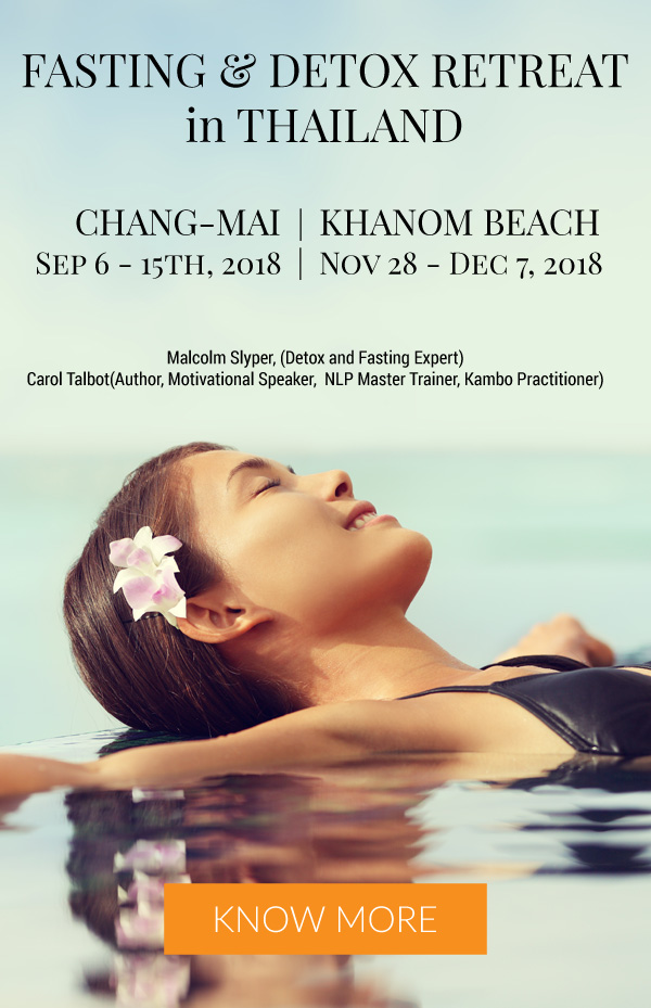 Fasting Retreats in Thailand - Chang Mai & Khanom Beach